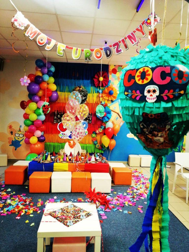 Tematyczne urodziny dla dzieci