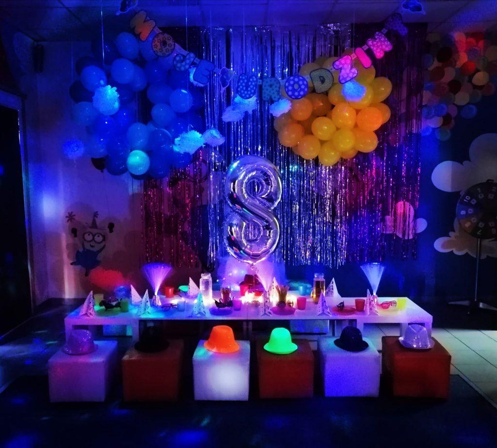 urodziny disco sala zabaw