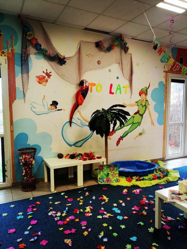 urodzinki egzotyczne sala zabaw