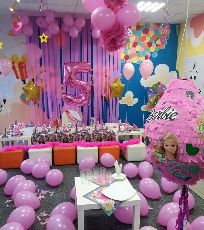 urodzinki barbie sala zabaw